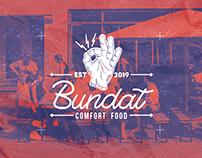 Bundat Comfort Food Logo Design