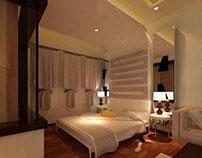 Modern Master Bed Room