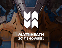 Concept Art Showreel 2017