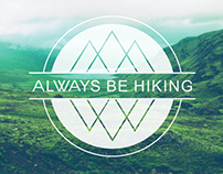 Always Be Hiking Logo