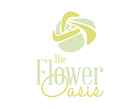 Florist rebranding - The Flower Oasis