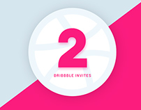2 Dribbble Invites Giveaway :)