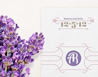 A&R Wedding Set