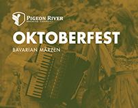 Pigeon River Oktoberfest Bavarian Marzen Identity