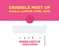Dribbble Meet Up KL 2018