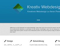 Kreativ Webdesign - Redesign