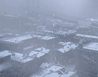 VFX \ Film Shot (Snowy City)