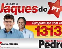 Campanha Vereador - Jaques de Toledo