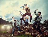 The Janoskians - promo shoot