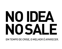 NO IDEA NO SALE