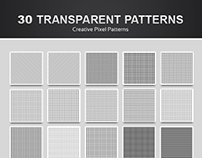 30 Pixel Patterns