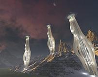 Temple Skyscrapers