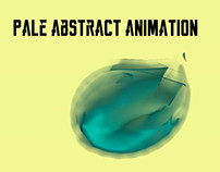 Pale abstract animation
