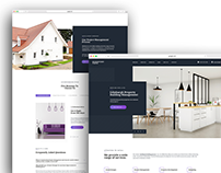 Property Development Homepage Design