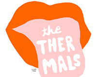 THE THERMALS GIG POSTER