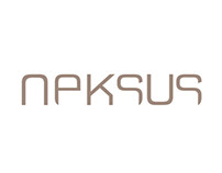 Logotype for neksus luxury leather products design