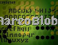 Aareo Blob - Typeface Design