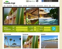 Pousada Anga - Layout design