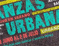 Poster for an urban dance school