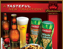 Anheuser-Busch Cross Merchanding Sales Promotion