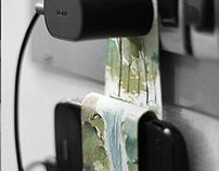 DIY - Handmade Mobile Phone Charger Holder.