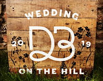 Wedding Sign - Handmade & Painted