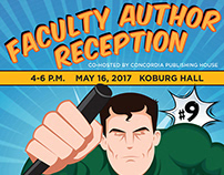 Faculty Author Reception poster 2017