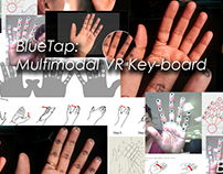 BlueTap: Multimodal VR Keyboard - PATENT (2016)