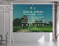 YAMIN Charity Golf Event -Collaterals