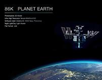 Planet Earth 86K 3D High Resolution Model