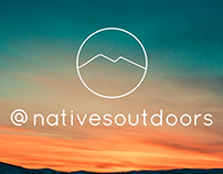 Natives Outdoors Apparel Design
