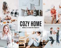 Free Cozy Home Mobile & Desktop Lightroom Presets