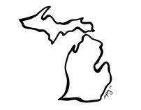 MichiganOutline-Geo