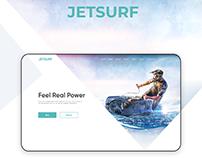 JetSurf landing page