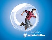 #saiadabolha | Campanha de vacinação contra a gripe