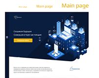 Web design and Logo design Corporate website