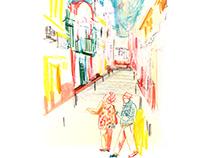 Sketchbook from Sevilla 2