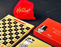 Hamley's Package Redesign