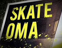 Skate Oma Poster Set