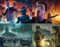Another illustrations for Call of cthulhu rpg