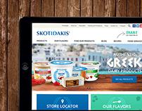 Website yogurt SKOTIDAKIS