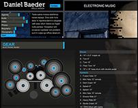 Webdesign Daniel Baeder