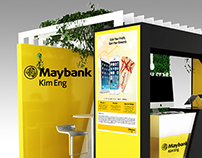 Maybank Kim Eng Booth