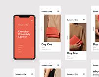 App & Web Site Layout