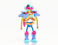 pixel armor