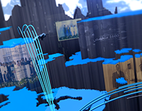 RTA - World Map Motion Graphics