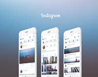 Instagram UI Concept