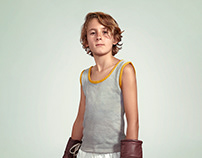 The Boyish Blond Boxer
