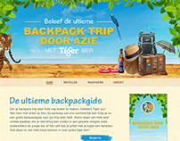 Tiger Beer Webdesign