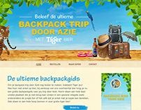 Tiger Beer Webdesign